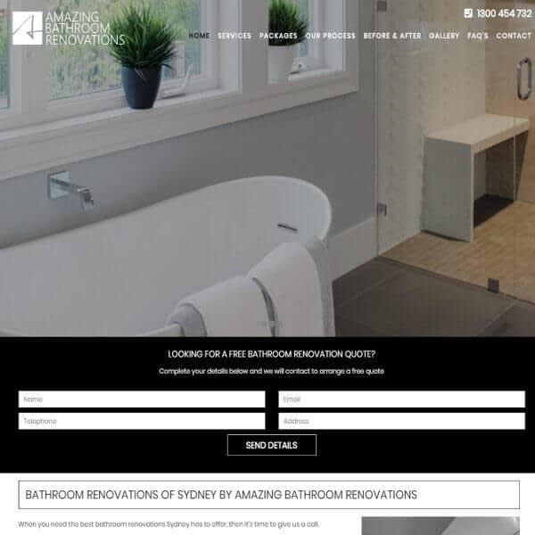 Bathroom Renovations Sydney - Amazing Bathroom Renovations
