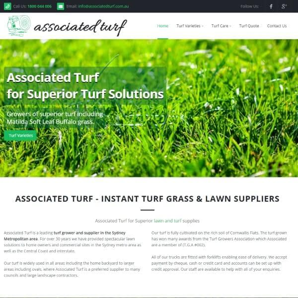 Turf Supplies Sydney - Associated Turf